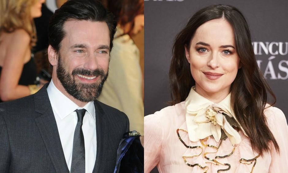 VROČE: Ali sta Dakota Johnson in Jon Hamm nov zvezdniški par? (foto: Profimedia)