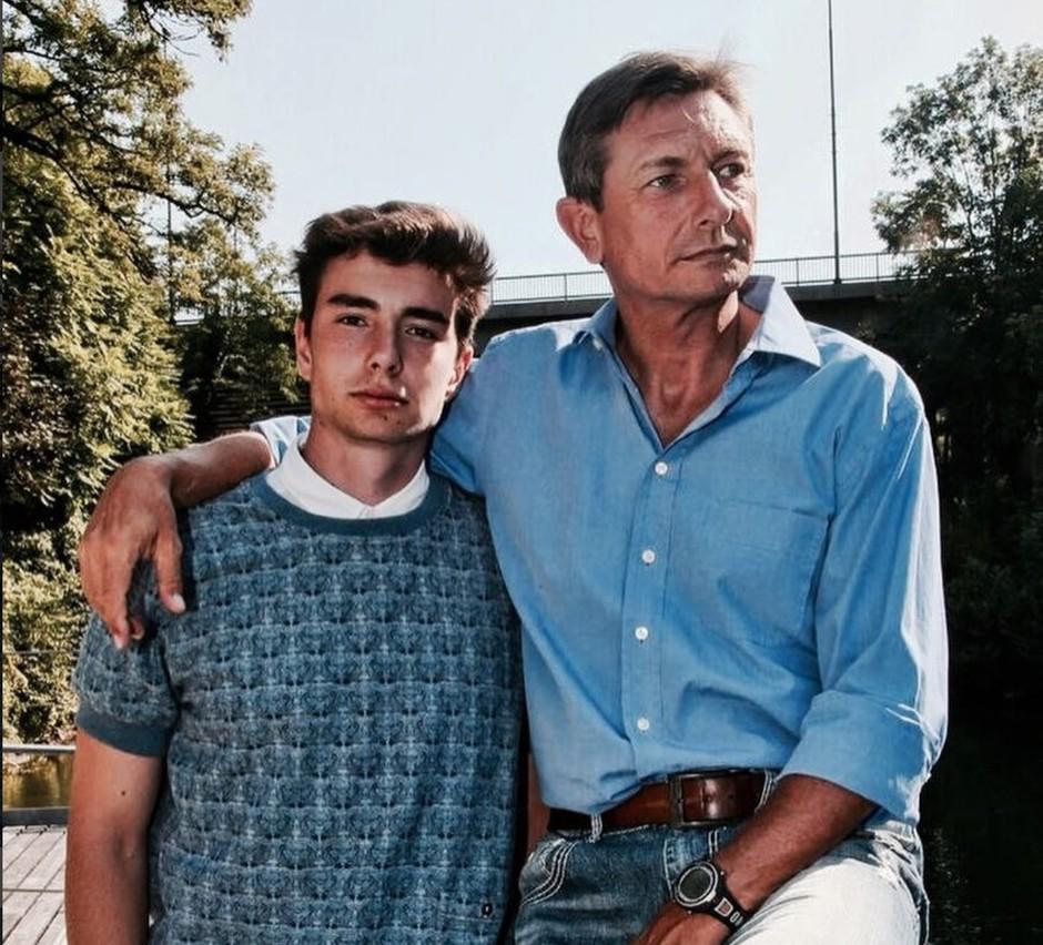 Tako (seksi) je videti Luka Pečar Pahor, sin našega predsednika! (foto: Instagram/Luka Pečar Pahor)