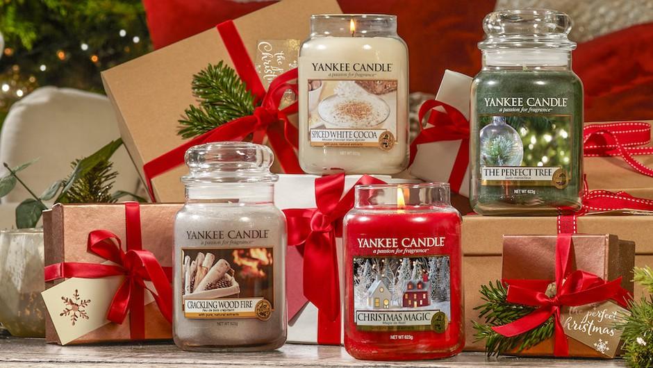 Tukaj je težko pričakovana božična kolekcija svečk Yankee Candle (foto: Promocijsko gradivo)