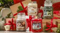 Tukaj je težko pričakovana božična kolekcija svečk Yankee Candle