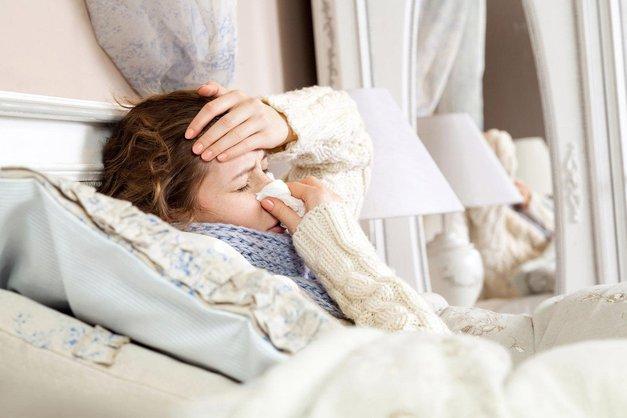 Zakaj se ti zdi, da je prehlad 'hujši', ko si osamljena? (foto: Profimedia)