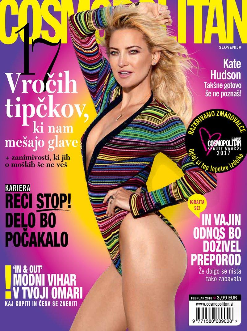 Cosmopolitan Slovenija februar 2018