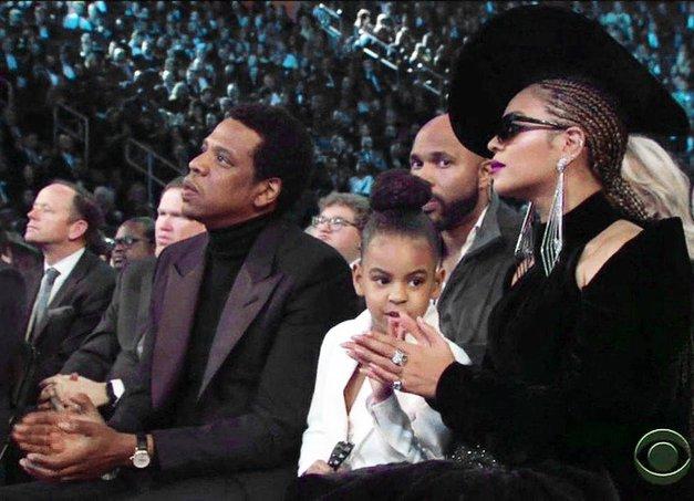 Svet je obšel noro zabaven posnetek prikupne Blue Ivy s podelitve Grammy-jev! (foto: Profimedia)