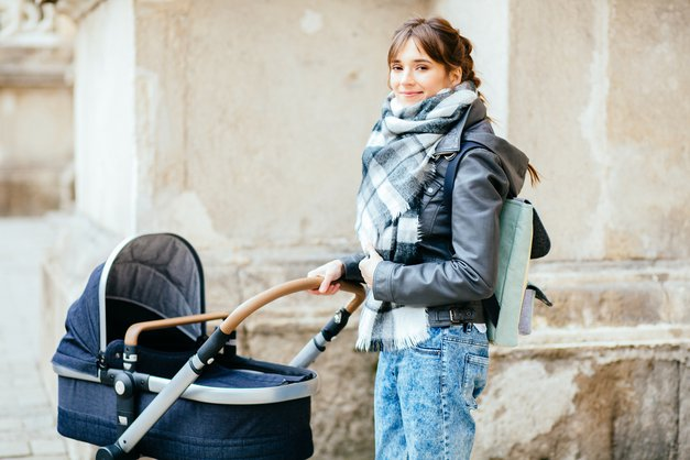 Otroški vozički: Pri iskanju pravega pazi na to! (foto: shutterstock)