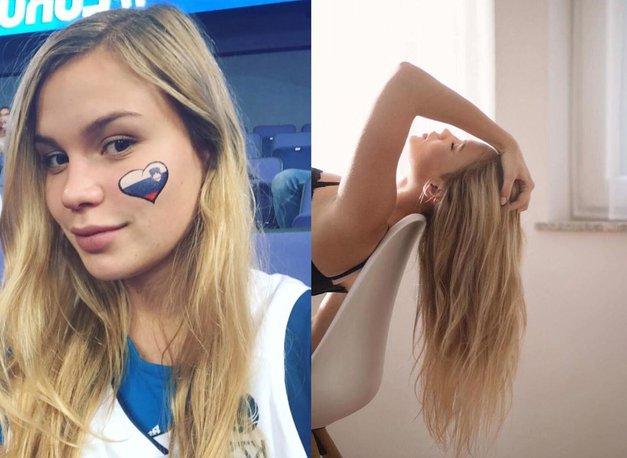 Dekle Luke Dončića je ostriglo svoje dolge lase! Preveri, kako je videti zdaj! (foto: Instagram Anamaria Goltes)
