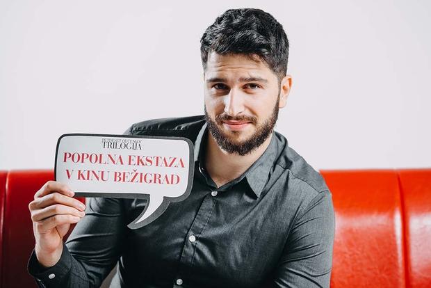 FOTO: Utrinki z razprodane trilogije 50 odtenkov (Kino Bežigrad)