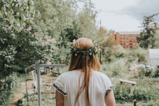 """""""V ospredje prihajata srce in duša, poslušajte ju!"""" (zapis inspiracijske svetovalke Maje Debevc) (foto: Unsplash.com/Zoe Deal)"""