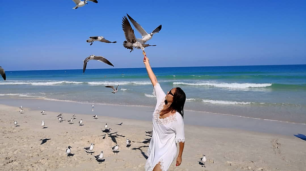 FOTO: Alenka Košir se potepa po sanjski Floridi (foto: Instagram.com/vformizalenkokosir)