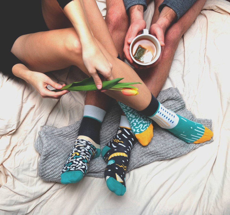 Če vedno obuješ dve različni nogavici, MORAŠ prebrati tole! (foto: Boštjan Vidmar)