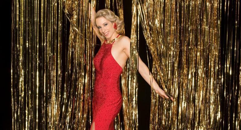 """Natalija Gros (Zvezde plešejo): """"Najina ljubezenska zgodba se je začela na premieri"""" (foto: POP TV)"""