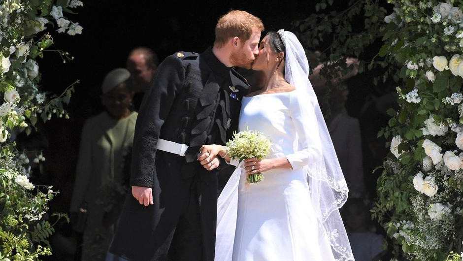 Uau! Spoznaj lepotca, ki je poskrbel za čudovite poročne portrete Harryja in Meghan (foto: Profimedia)