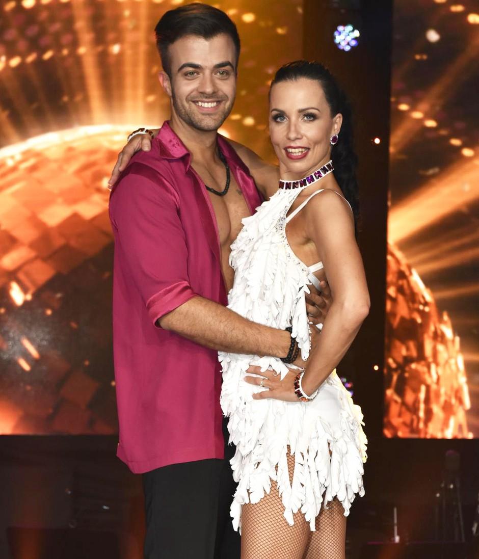 Maja Geršak in Gašper Rifelj (Zvezde plešejo) PRVIČ komentirala, ali sta RES par (foto: Igor Zaplatil)