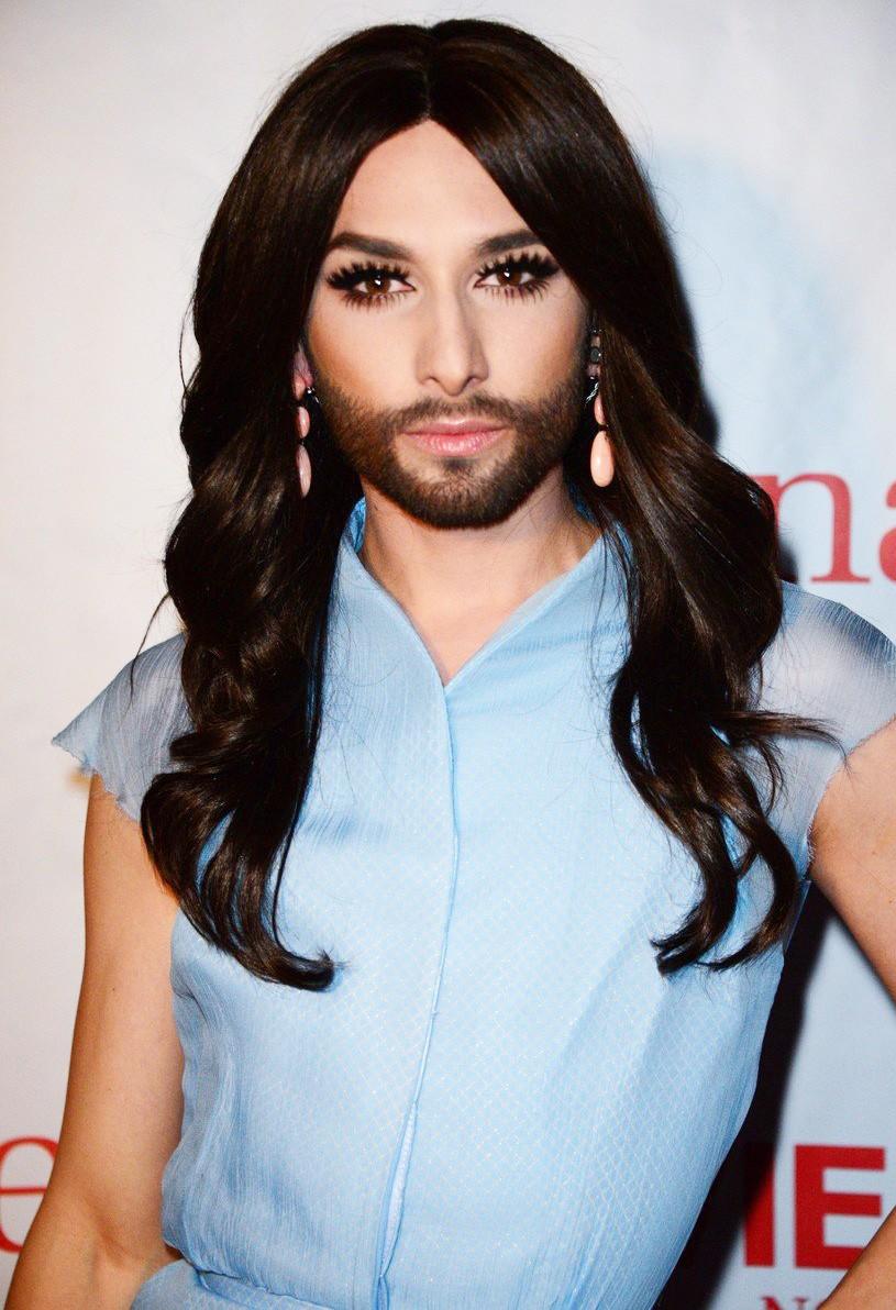 Conchita Wurst je po novici o okužbi z virusom HIV popolnoma neprepoznavna (foto: Profimedia)