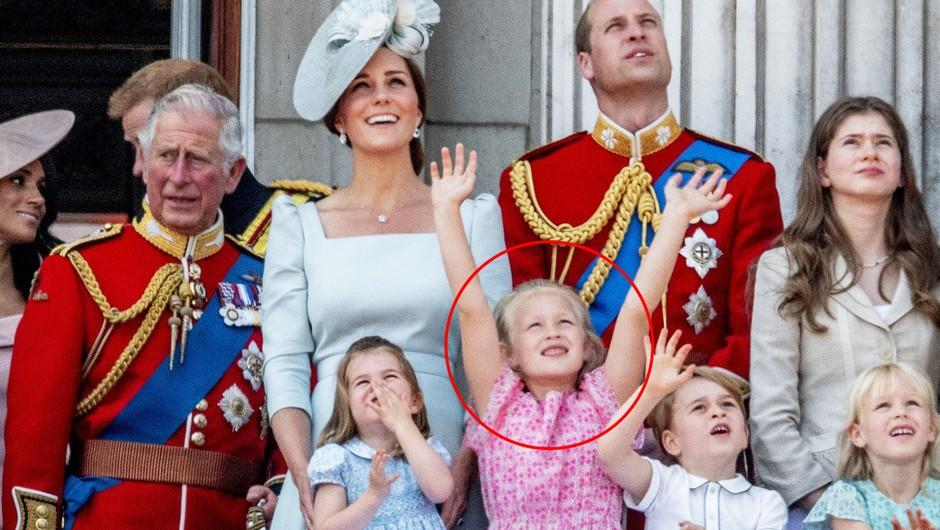 VIDEO: Moraš videti, kako je deklica v rožnati oblekici utišala malega Georga (foto: profimedia)