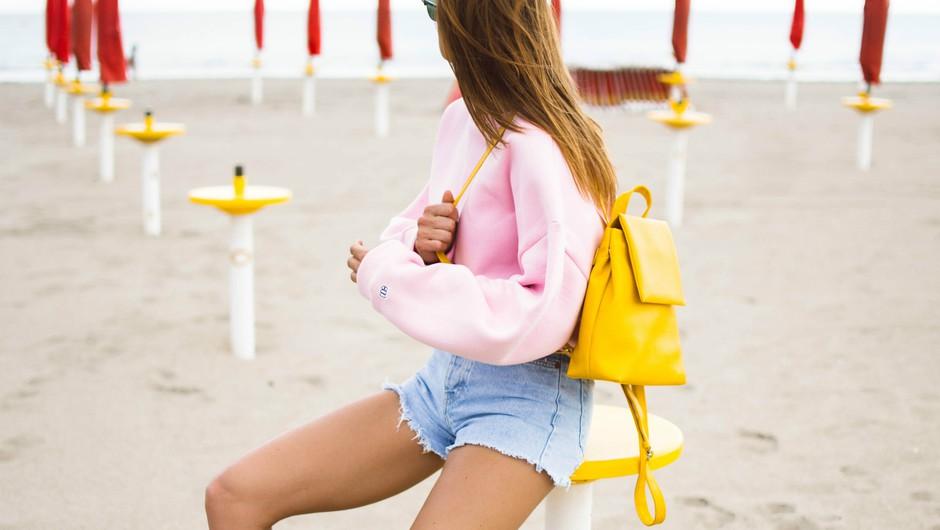 Poglej, kako bodo to poletje nahrbtnik nosile modne navdušenke! (foto: Boopacks)