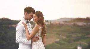 FOTO: Najlepši utrinki s poroke Mihe Vodičarja in njegove Kristine