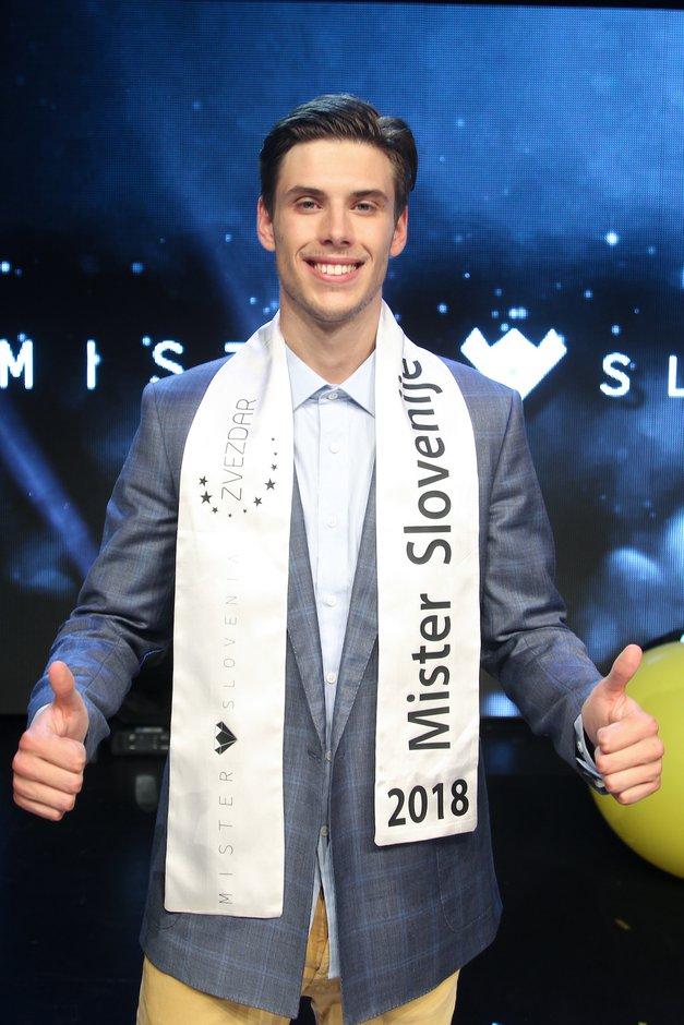 Mister Slovenije 2018 je Matjaž Mavri Boncelj! (foto: Mare Zaklop, Luka Brataševec)