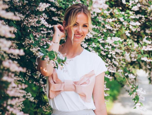 Tjaša Kokalj Jerala je končno razkrila način, kako je skrivala nosečniški trebušček (foto: Instagram.com/tjasakokaljjerala)