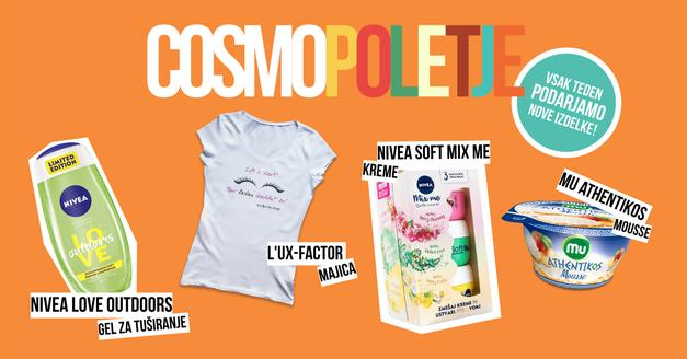 Drugi Cosmo poletni give-away