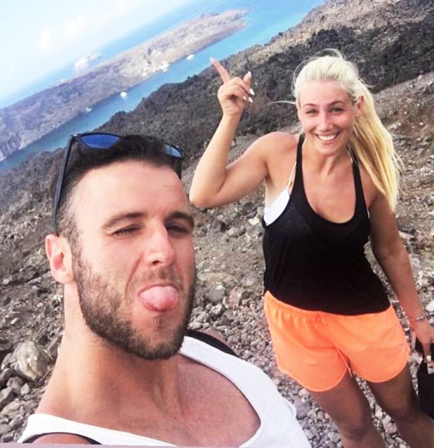 Indira Ekić in njen Matic si bosta prve skupne počitnice zapomnila za vedno! (foto: Instagram.com/indiraekic)