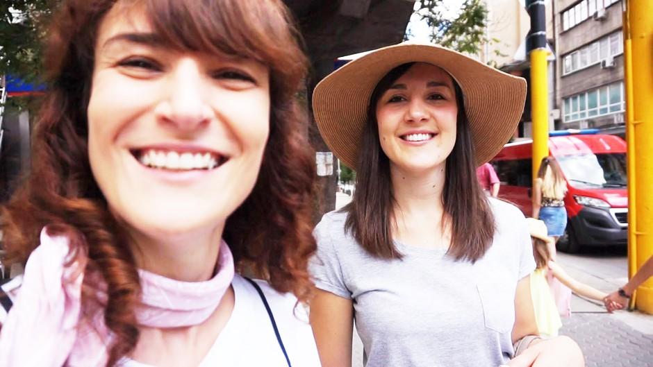 VIDEO: Poglej, kaj sta na Mercatorjevem potovanju v Sofiji doživeli Ajda in Kaja! (foto: Osebni Arhiv)