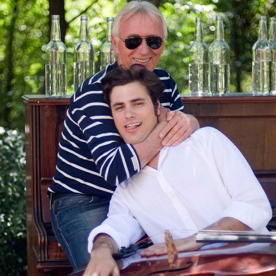 Stjepan Hauser se je poslovil od idola! (foto: Instagram.com/@hausercello)