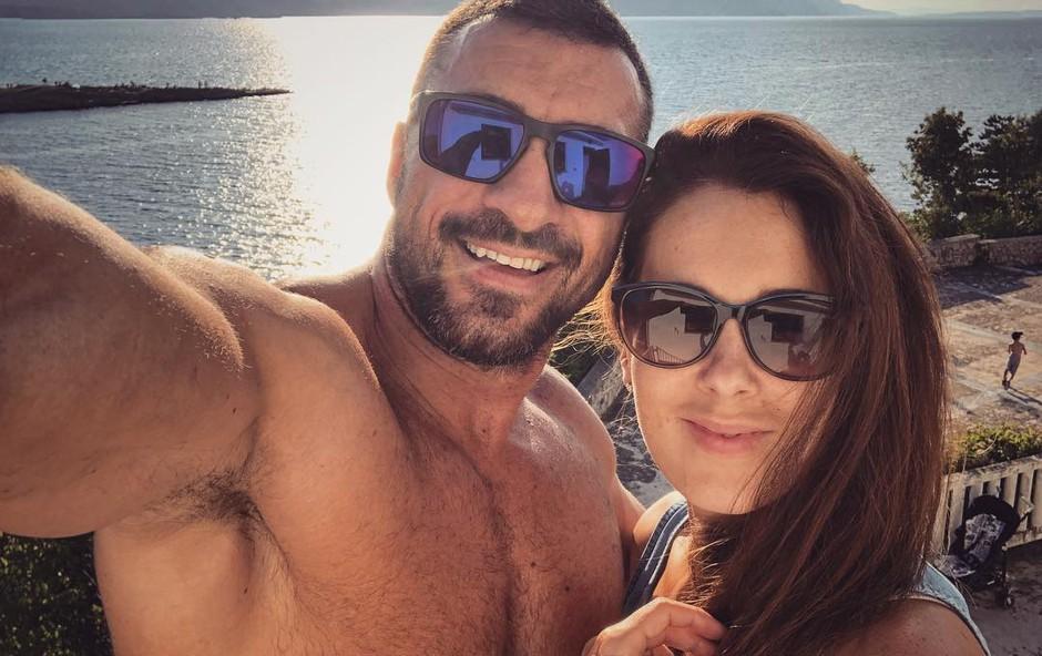 FOTO: Marko Potrč in Lili Žagar objavila fantastične utrinke dopusta 2018 (foto: Instagram.com/@markoporc)