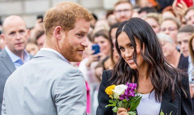 Vojvodinja Meghan in princ Harry ne bosta zakonska skrbnika svojih otrok (foto: Profimedia)