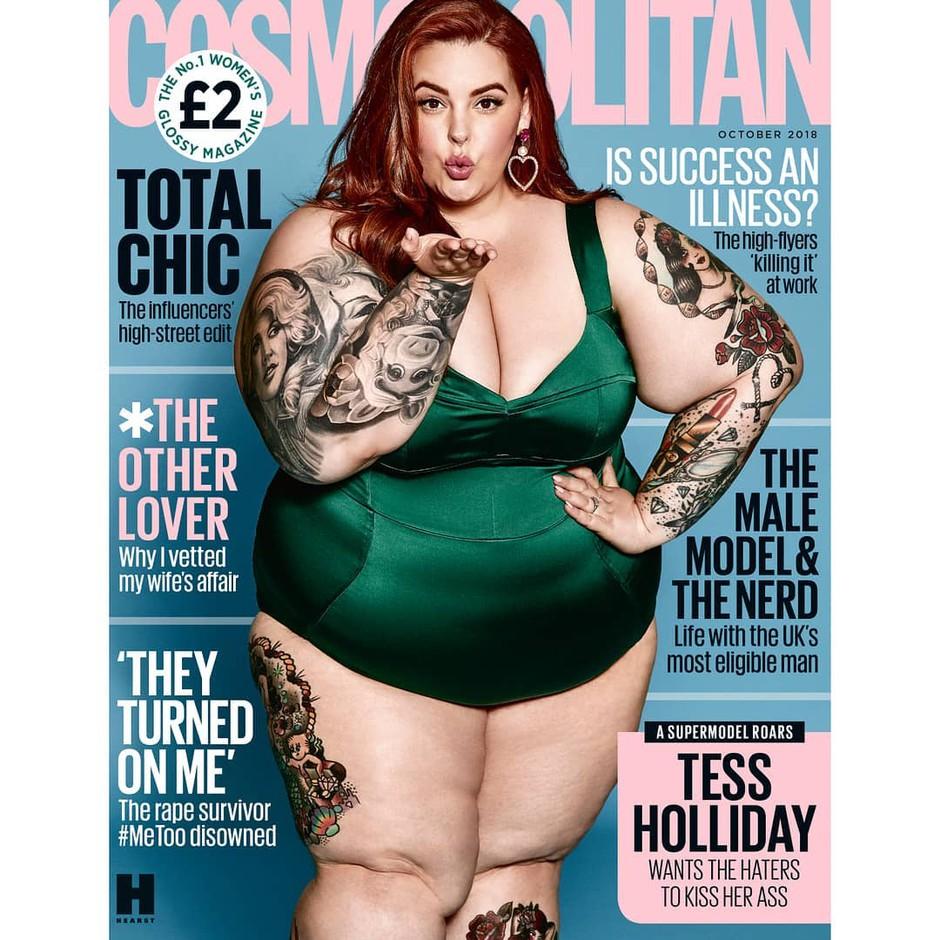 Britanska naslovnica Cosmopolitana dvignila veliko prahu (foto: Instagram.com/@Cosmopolitanuk)