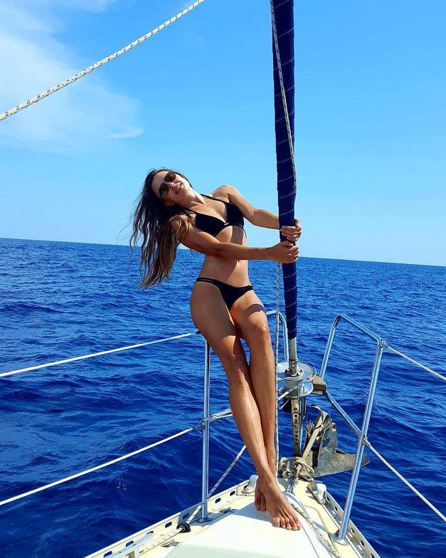 Iryna Osypenko Nemec delila intimne fotografije z morja (FOTO) (foto: Instagram.com/@iryna_osypenko_nemec)