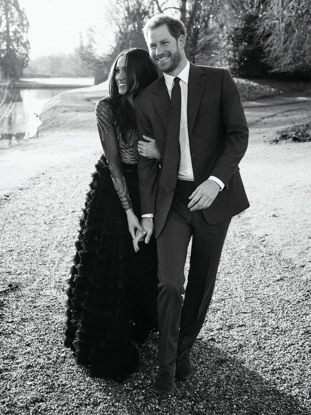 Poglej, kateri zvezdniški parček je 'kopiral' zaročne fotografije Harryja in Megan (foto: Profimedia)