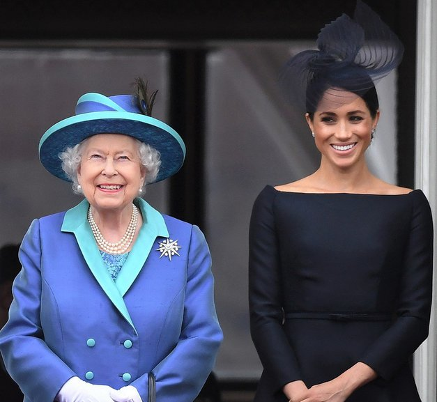 Kraljica Elizabeta II. je razkrila, kaj si misli o drami med Meghan Markle in njenim očetom (foto: Profimedia)
