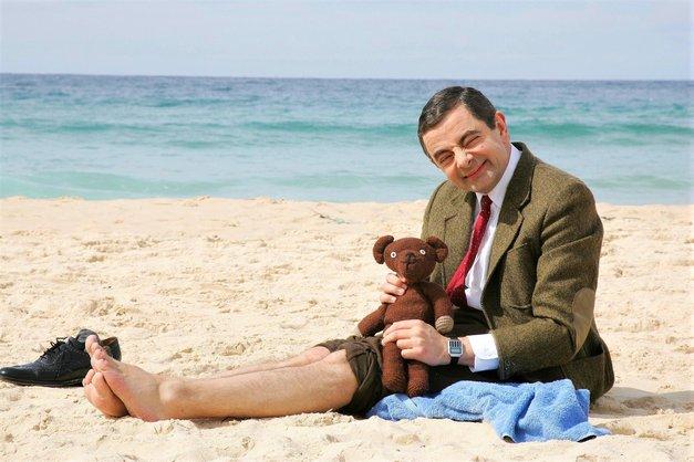 Mr. Bean morda res ni najbolj čeden moški na svetu, a njegova hčerka je prava lepotica! (foto: Profimedia)