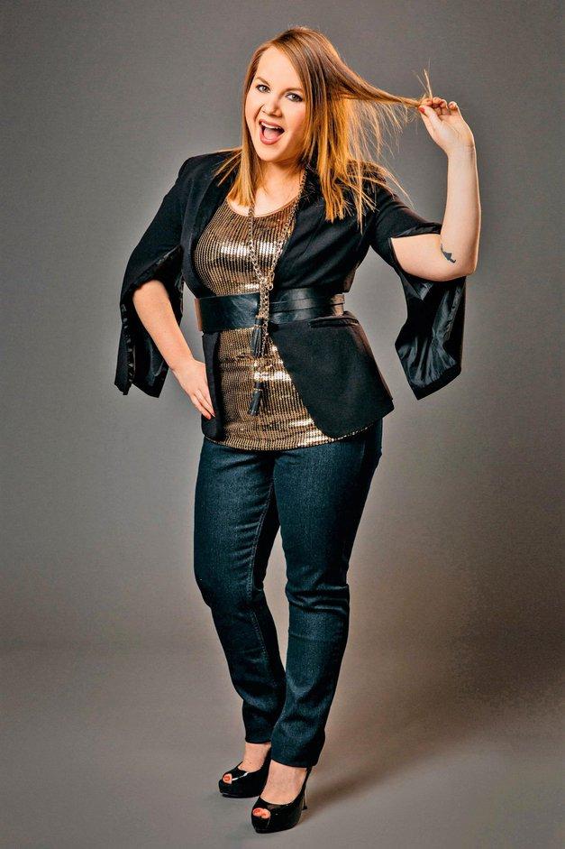 "Tanja Kocman: ""Enkrat debela, vedno debela"" (foto: Jani Ugrin)"