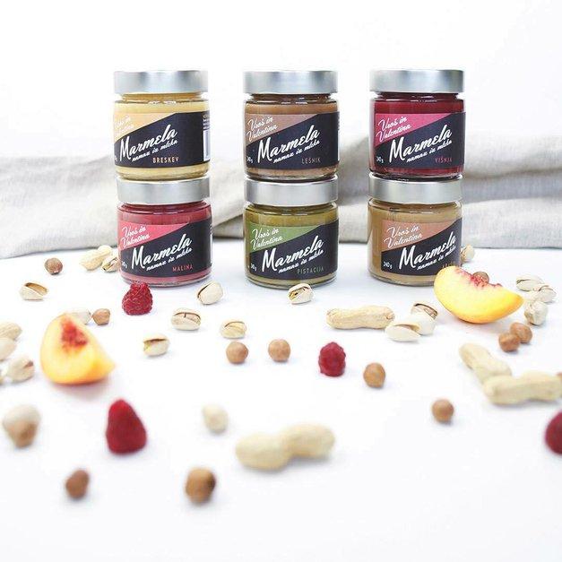 Na kruhu, s kosmiči, zavita v palačinkah, kot sladoled – Marmela paše povsod! (foto: zasebni arhiv)