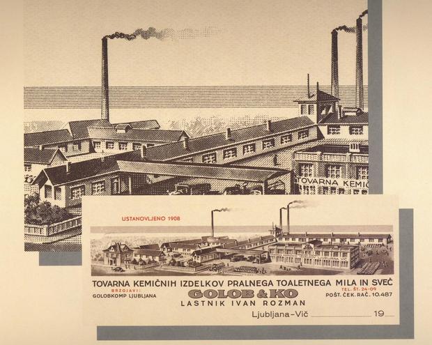 1908 Ustanovljeno je podjetje Golob & Ko, ki se pozneje preimenuje v Ilirija d.o.o.