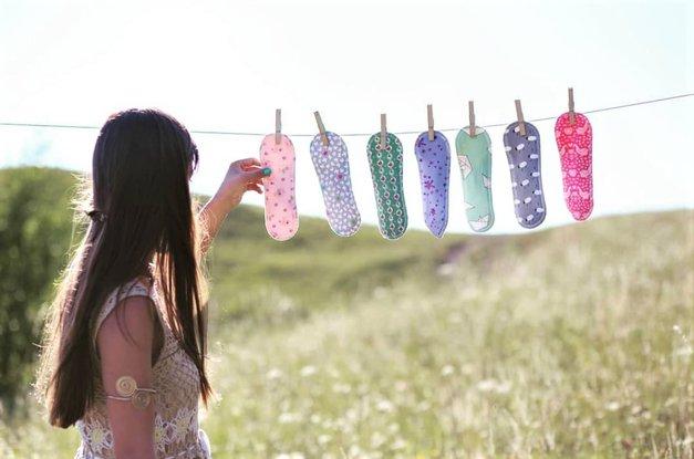 """""""Preizkusila sem pralne vložke in rezultat je bil ..."""" (izkušnja slovenske blogerke) (foto: Instagram/eko_racman)"""