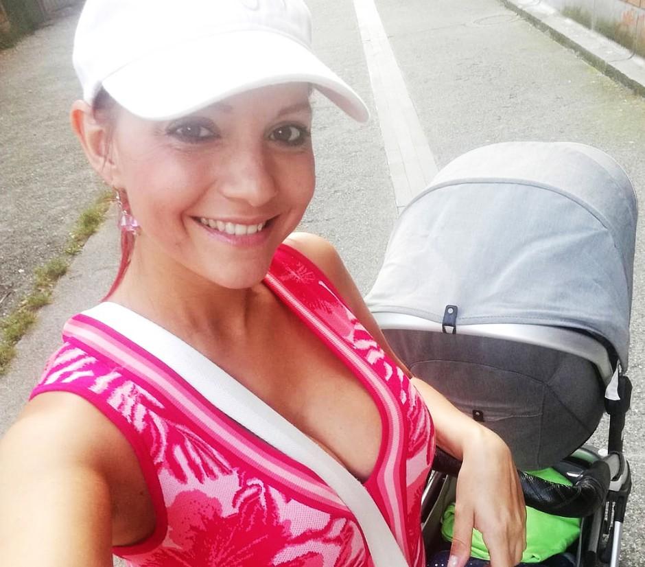 FOTO: Poglej, kako je Tanja Žagar praznovala 1. rojstni dan svojega sina (foto: Instagram.com/tanjazagar)