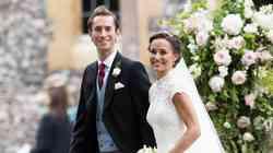Uau! Poglej, v kako KRASNI obleki je Pippa Middleton svetu predstavila prvorojenca