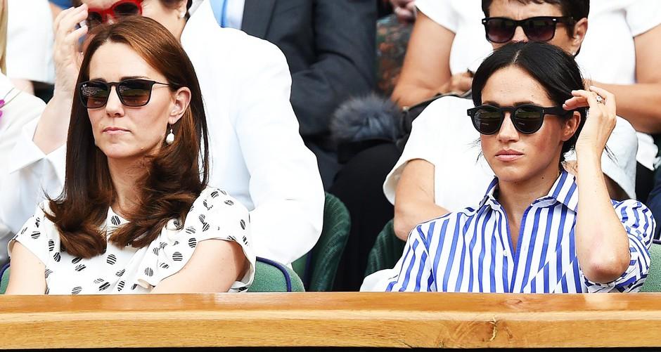 Kate Middleton odgovarja na govorice, da se z Meghan Markle NE preneseta! (foto: Profimedia)