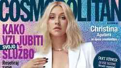 VROČE! Na naslovnici novega, januarskega Cosma je … Christina Aguilera!