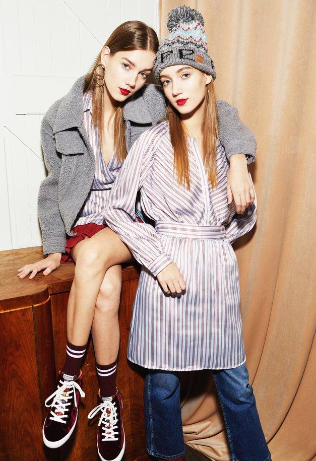 Stilski nasvet: TAKO boš modna tudi takrat, ko je zunaj ZELOOOO mraz (foto: Pepe Jeans)
