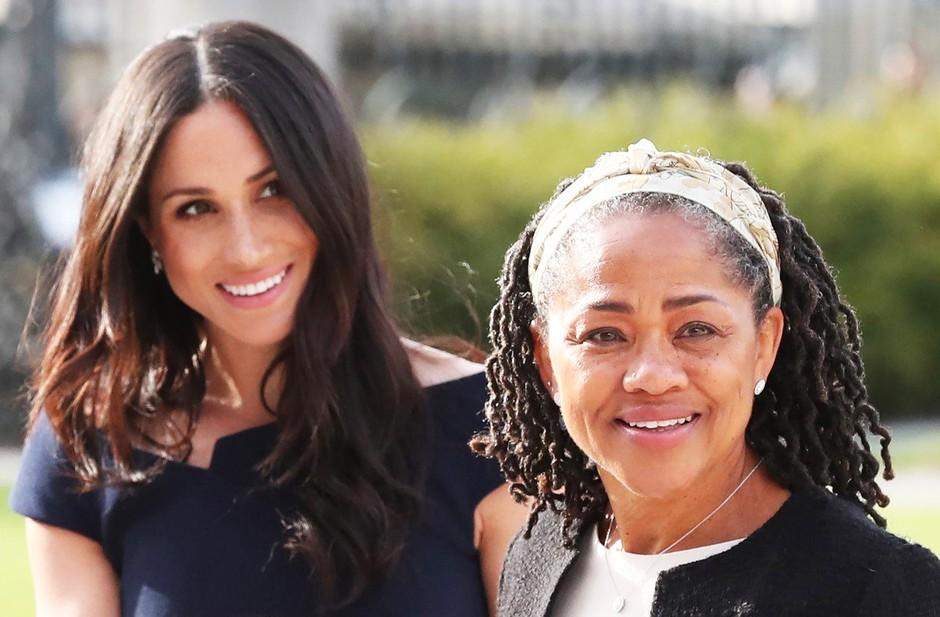 Mama Meghan Markle zavrnila povabilo na božično praznovanje s kraljevo družino (foto: Profimedia)