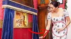 TO je razlog, zakaj se Meghan Markle neprestano dotika nosečniškega trebuščka