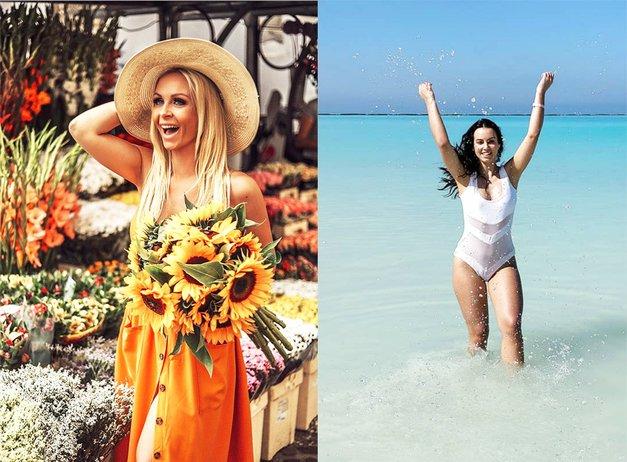 Lepa afna in Špela Grošelj na Tajskem: Preveri, katera bolj uživa (foto: Instagram.com/lepaafna/špelagrošelj)