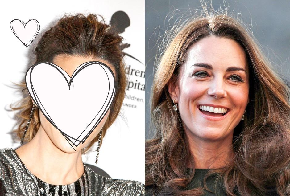 Uou! TOLE slavno igralko neprestano zamenjujejo za Kate Middleton (foto: Profimedia)