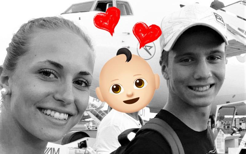 Nogometaš Luka Zahović je postal očka! (foto: Instagram/Luka Zahović)
