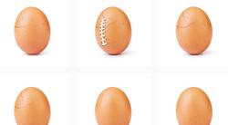 Se spomniš rekorderskega jajca z Instagrama? Za objavo stoji GANLJIVA zgodba, ki je nismo pričakovali