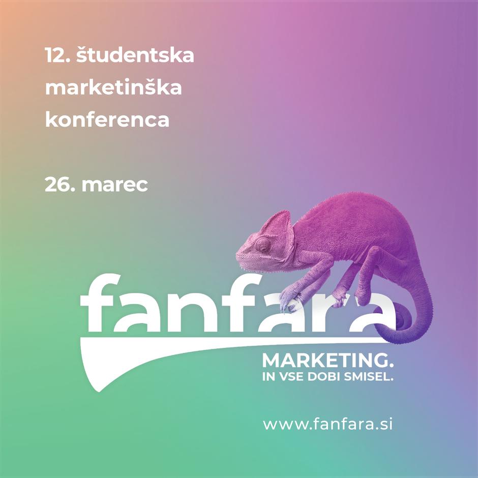 Prihaja 12. študentska marketinška konferenca fanfara (foto: Promocijsko gradivo)