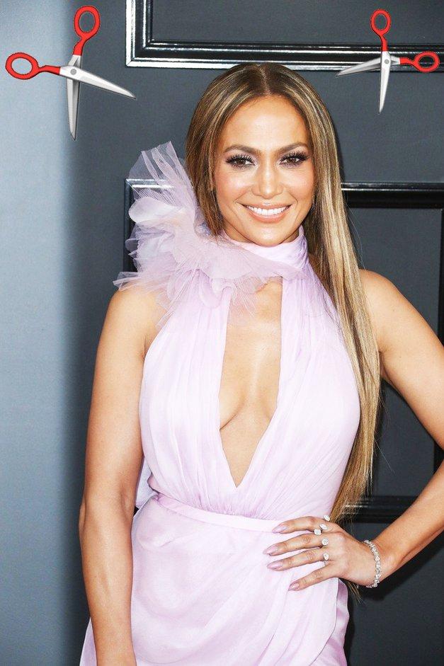 OMG! Jennifer Lopez je ta teden ostrigla svoje dolge lase, in zdaj izgleda precej drugače (foto: Profimedia)